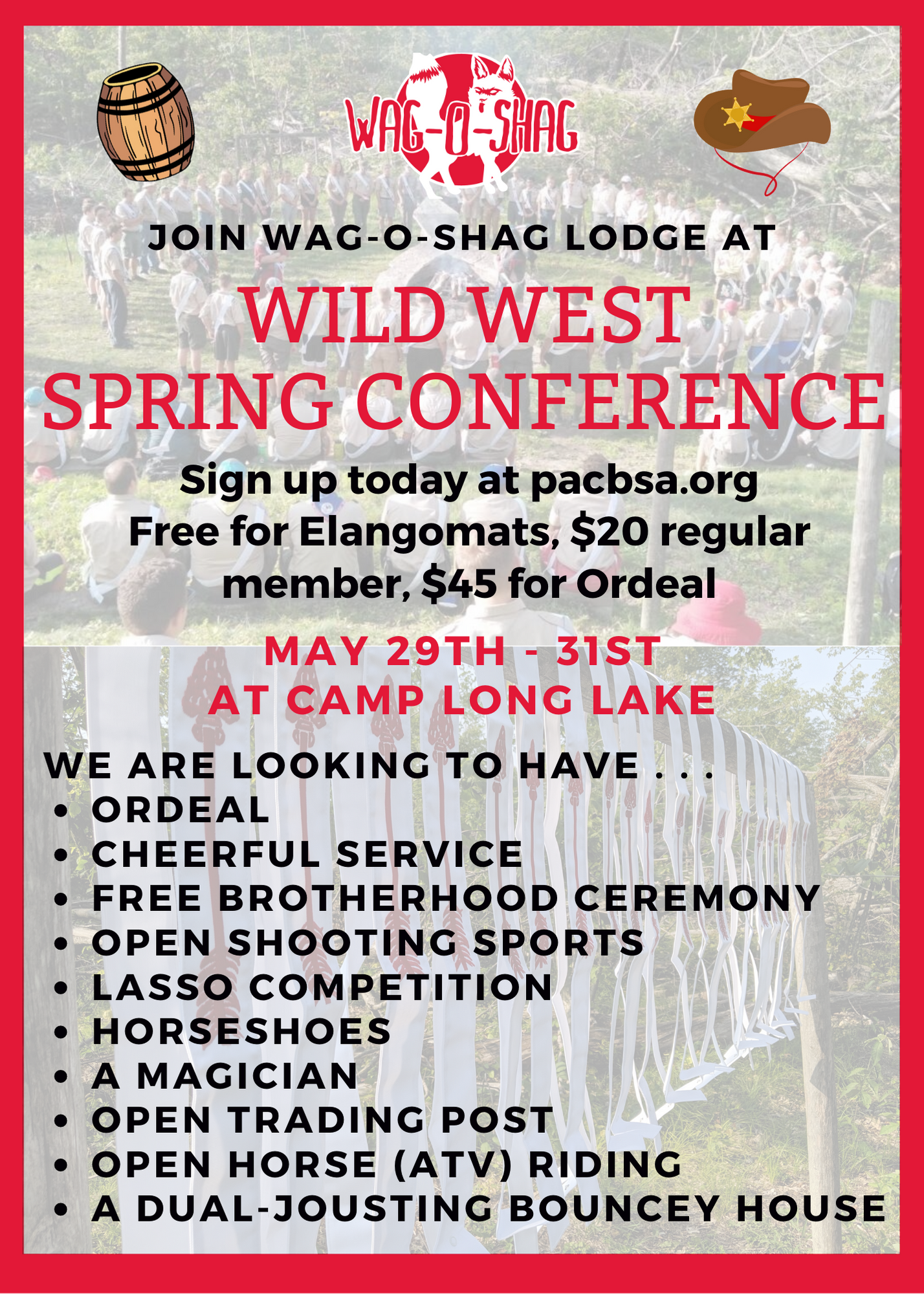 Spring Conference 2020 Flyer B&W