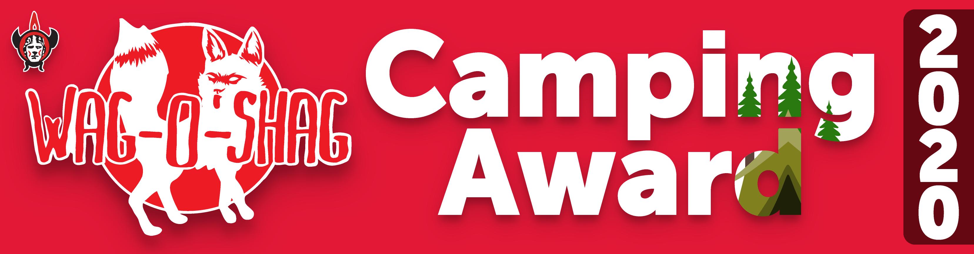 Camping Award Bumper Sticker (1)